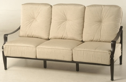 Lancaster By Hanamint Luxury Cast Aluminum Sofa