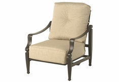Lancaster By Hanamint Luxury Cast Aluminum Spring Club Chair