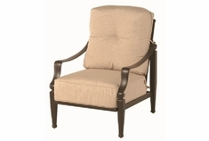 Lancaster By Hanamint Luxury Cast Aluminum Stationary Club Chair