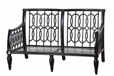 Manhattan By Gensun Luxury Cast Aluminum Patio Furniture Loveseat