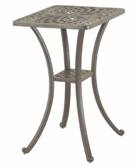 "Mayfair By Hanamint Luxury Cast Aluminum 22"" x 28"" Rectangular Counter Height Table"
