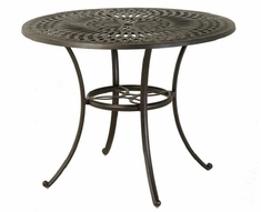 "Mayfair By Hanamint Luxury Cast Aluminum Patio Furniture 48"" Round Counter Height Table"
