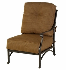 Mayfair By Hanamint Luxury Cast Aluminum Patio Furniture Left Arm Club Chair
