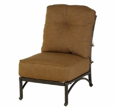 Mayfair By Hanamint Luxury Cast Aluminum Patio Furniture Middle Club Chair