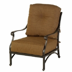 Mayfair By Hanamint Luxury Cast Aluminum Patio Furniture Stationary Club Chair