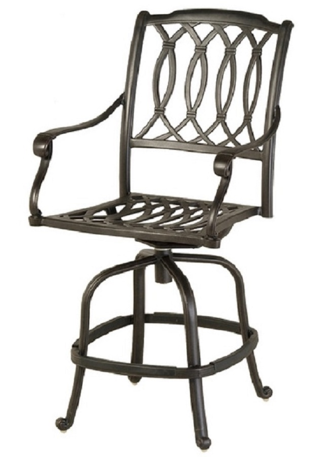 Mayfair By Hanamint Luxury Cast Aluminum Patio Furniture Swivel