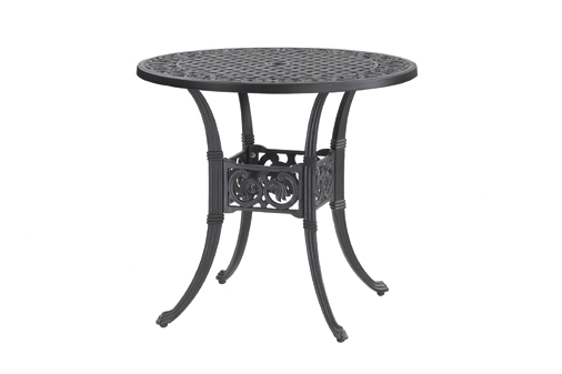 Michigan By Gensun Luxury Cast Aluminum Patio Furniture 32 Round Dining Table