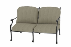 Michigan By Gensun Luxury Cast Aluminum Patio Furniture Loveseat