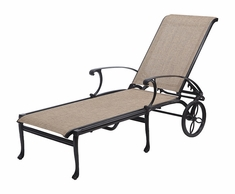 Michigan By Gensun Patio Furniture Sling Chaise Lounge