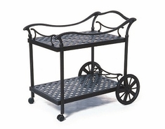 Newport By Hanamint Luxury Cast Aluminum Patio Furniture Tea Cart