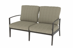 Phoenix By Gensun Luxury Cast Aluminum Patio Furniture Loveseat