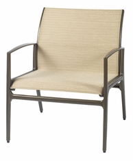 Phoenix By Gensun Luxury Cast Aluminum Patio Furniture Sling Lounge Chair