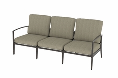 Phoenix By Gensun Luxury Cast Aluminum Patio Furniture Sofa