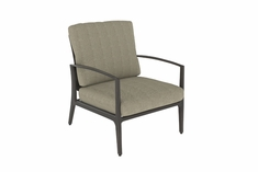 Phoenix By Gensun Luxury Cast Aluminum Patio Furniture Stationary Club Chair