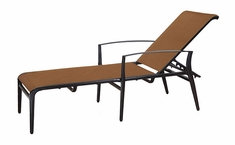 Phoenix By Gensun Patio Furniture Padded Sling Chaise Lounge