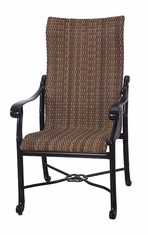 San Marino By Gensun Woven High Back Patio Furniture Dining Chair
