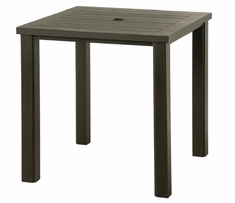 """Sherwood By Hanamint Luxury Cast Aluminum Patio Furniture 36"""" Square Counter Height Table"""