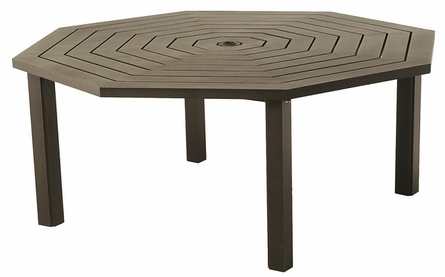 Sherwood By Hanamint Luxury Cast Aluminum Patio Furniture Octagonal Dining Table