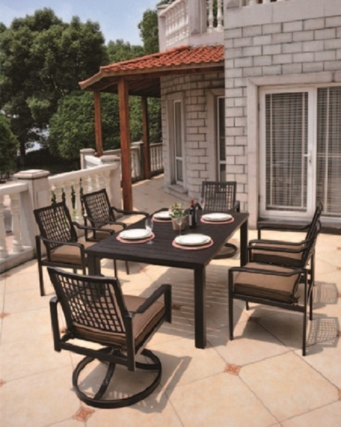 Sherwood By Hanamint Luxury Cast Aluminum Patio Furniture Octagonal ...
