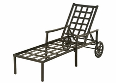 Stratford By Hanamint Luxury Cast Aluminum Chaise Lounge