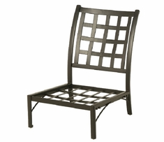 Stratford By Hanamint Luxury Cast Aluminum Middle Club Chair