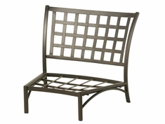 Stratford By Hanamint Luxury Cast Aluminum Middle Crescent Chair