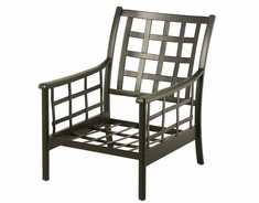 Stratford By Hanamint Luxury Cast Aluminum Stationary Club Chair