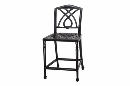 Terrace By Gensun Luxury Cast Aluminum Patio Furniture Armless Balcony Chair