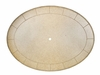 """The Amia Collection Cast Aluminum Patio Furniture 60"""" x 80"""" Oval Dining Table"""