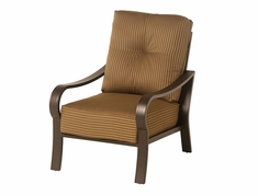 The Crestwood Collection By Alu-Mont Cast Aluminum Club Chair