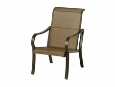 The Crestwood Collection By Alu-Mont Cast Aluminum Sling Dining Chair