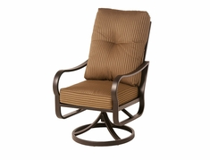 The Crestwood Collection By Alu-Mont Cast Aluminum Swivel Dining Chair