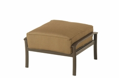 The Edgewood By Alu-Mont Luxury Cast Aluminum Patio Furniture Ottoman
