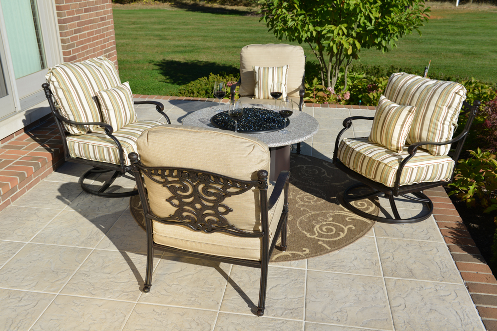100 patio furniture conversation sets with pit