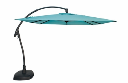 Treasure Garden 10' Cantilever Square AG Series Outdoor Umbrella