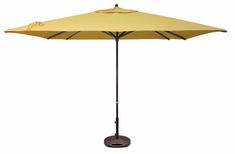 Treasure Garden 11' Easy Track Square Aluminum Patio Furniture Umbrella