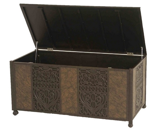 Tuscany By Hanamint Cast Aluminum Luxury Patio Furniture Storage Box  sc 1 st  Open Air Lifestyles LLC & Shop All Cast Aluminum Patio Storage Boxes