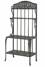 Tuscany By Hanamint Luxury Cast Aluminum Patio Furniture Baker's Rack