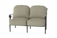 Verona By Gensun Luxury Cast Aluminum Patio Furniture Loveseat