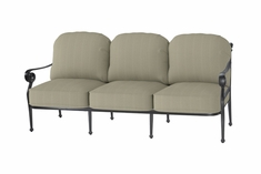 Verona By Gensun Luxury Cast Aluminum Patio Furniture Sofa