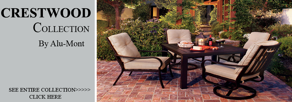 View All Alu Mont Crestwood Cast Aluminum Patio Furniture Sets