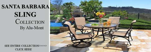 View All Alu Mont Collection Santa Barbara Sling Cast Aluminum