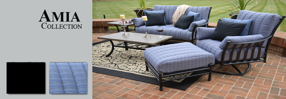 View all cast aluminum patio furniture deep seating sets for Deep seating outdoor furniture