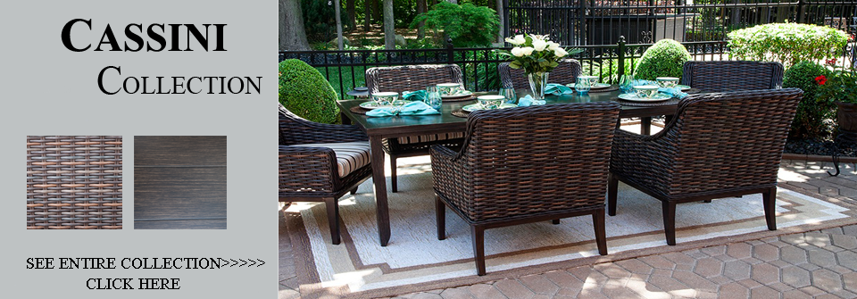 Wicker patio furniture dining sets classic outdoor for All weather wicker patio furniture