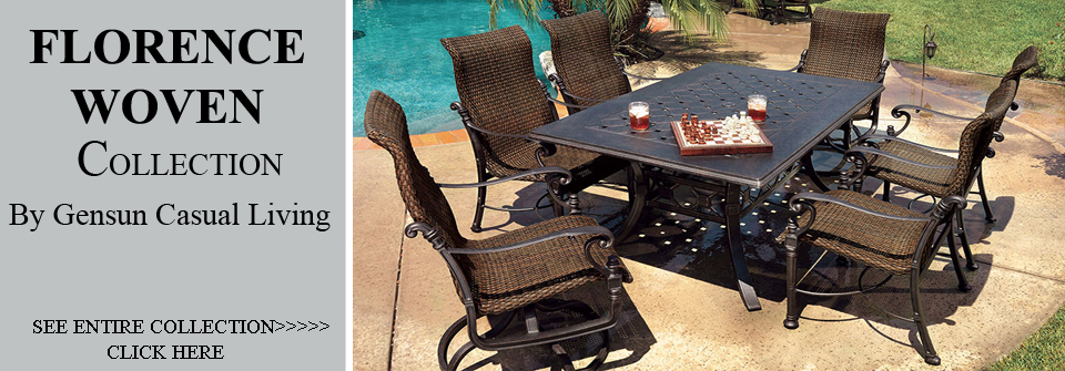 Wicker Patio Furniture Dining Sets Classic Outdoor