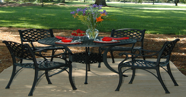 View All Hanamint Collection Newport Cast Aluminum Patio Furniture
