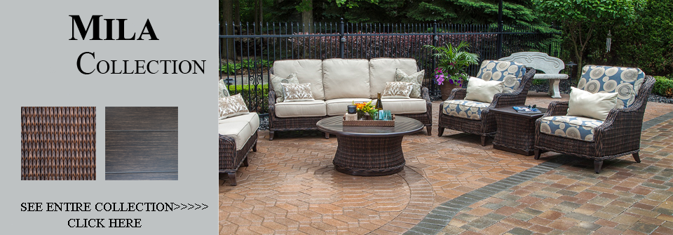 Luxury wicker patio furniture by open air lifestyles for All weather wicker patio furniture