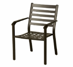 Westfield By Hanamint Luxury Cast Aluminum Stationary Dining Chair