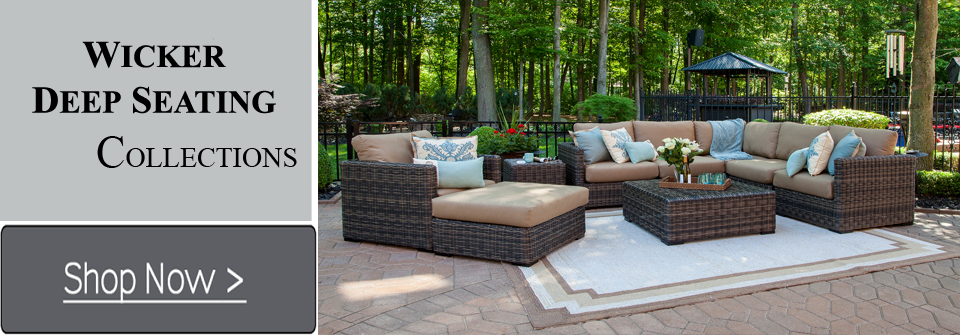 Wicker Patio Furniture Set. Wicker Patio Furniture Set .