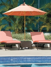 View All Galtech International Wood Shaft Patio Umbrellas